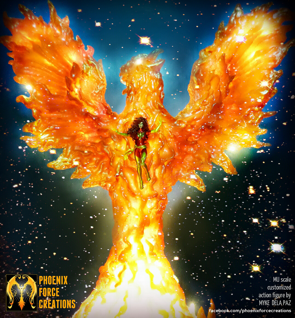 949x1024 > Phoenix Force Wallpapers