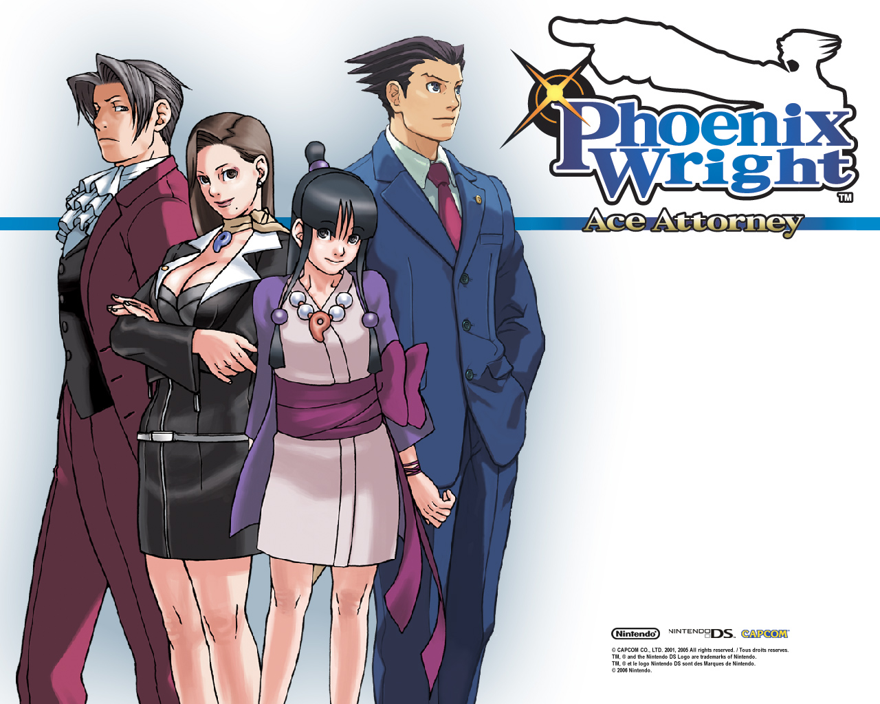 Phoenix Wright: Ace Attorney Backgrounds, Compatible - PC, Mobile, Gadgets| 1280x1024 px