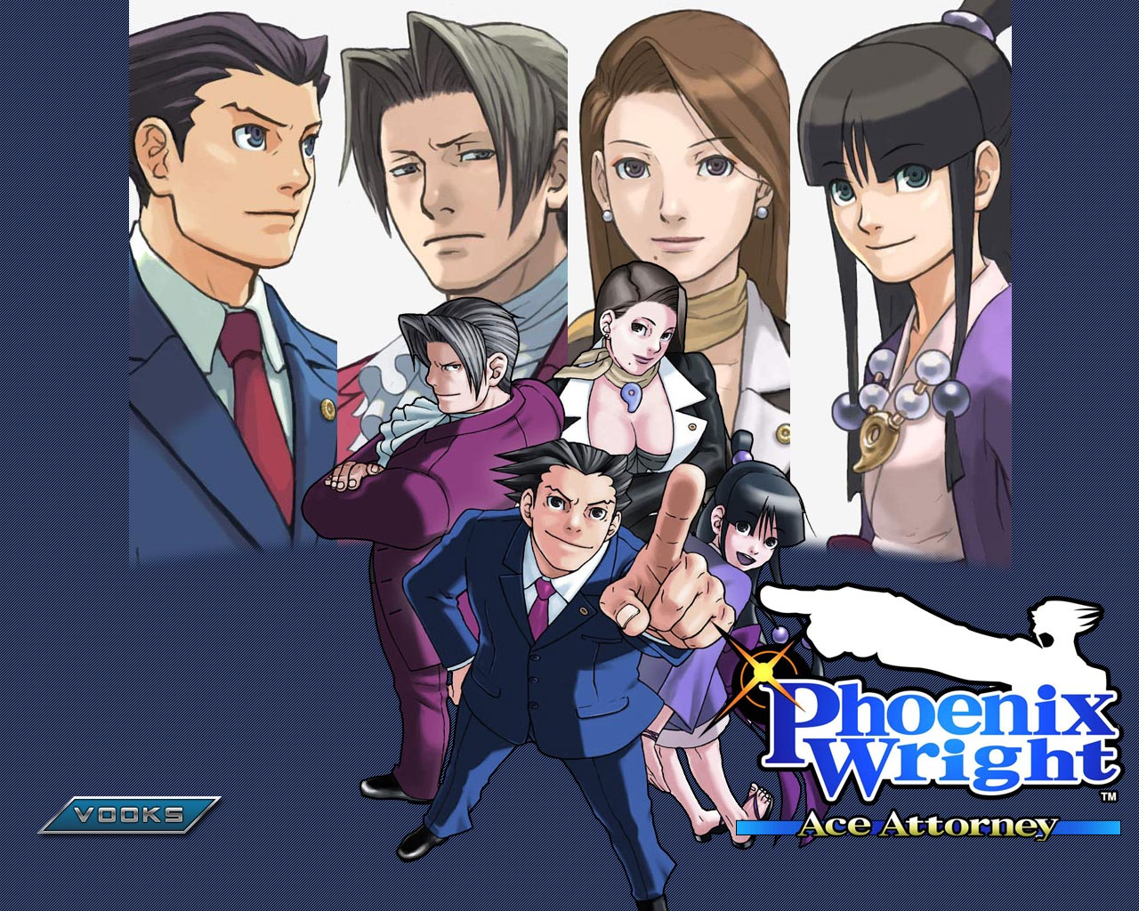 HQ Phoenix Wright: Ace Attorney Wallpapers | File 395.19Kb