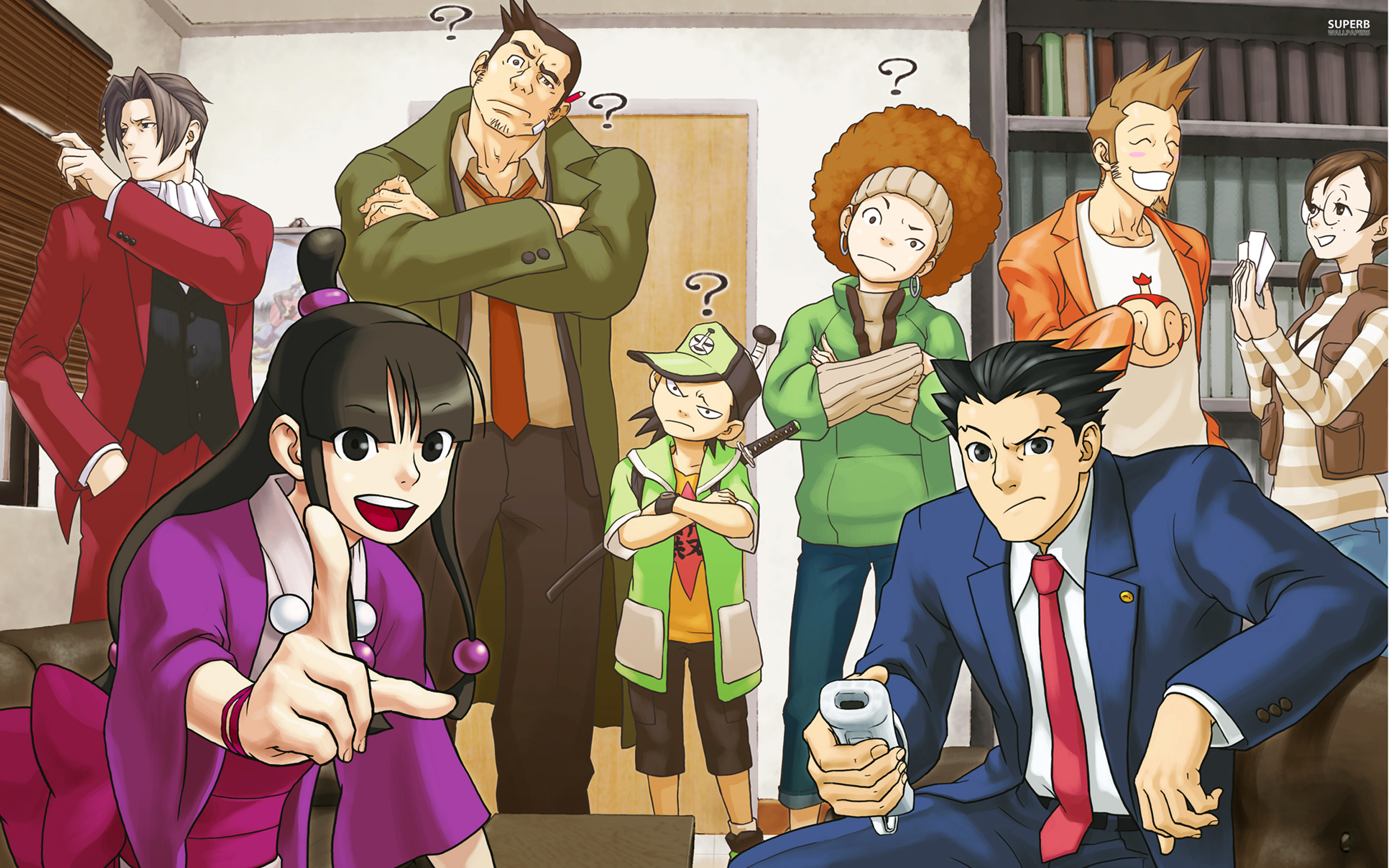 Images of Phoenix Wright: Ace Attorney | 2880x1800