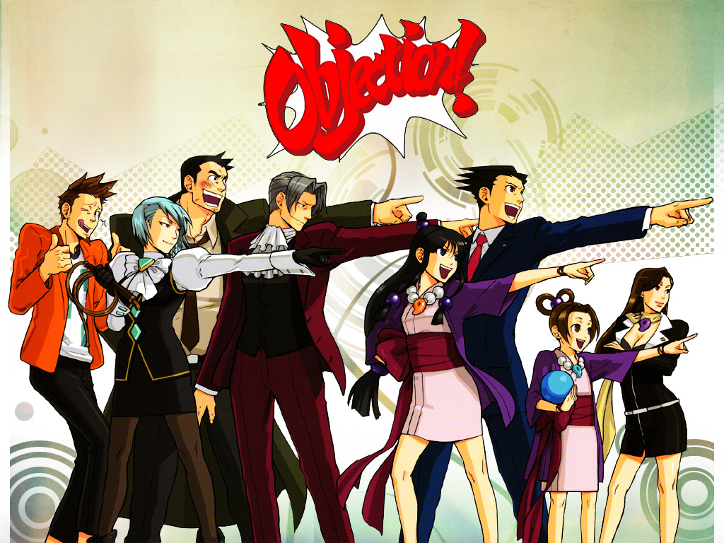 Phoenix Wright: Ace Attorney Backgrounds, Compatible - PC, Mobile, Gadgets| 1024x768 px