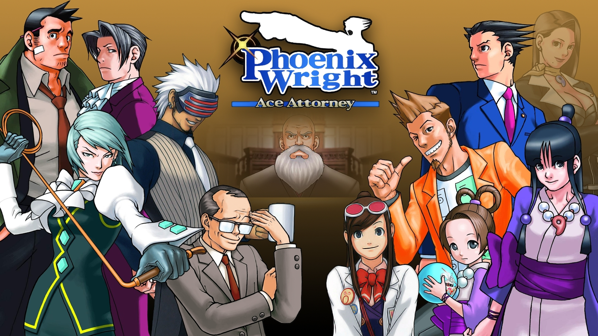 High Resolution Wallpaper | Phoenix Wright: Ace Attorney 1920x1080 px