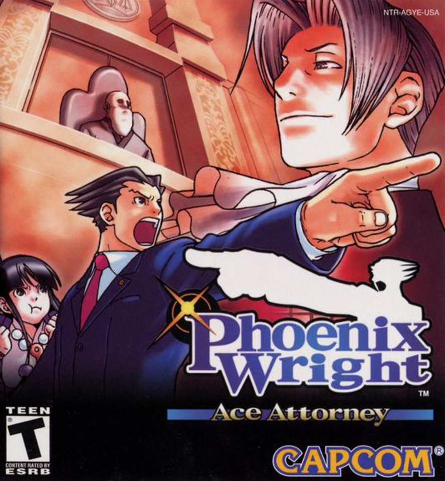 Phoenix Wright Ace Attorney Wallpapers Video Game Hq Phoenix