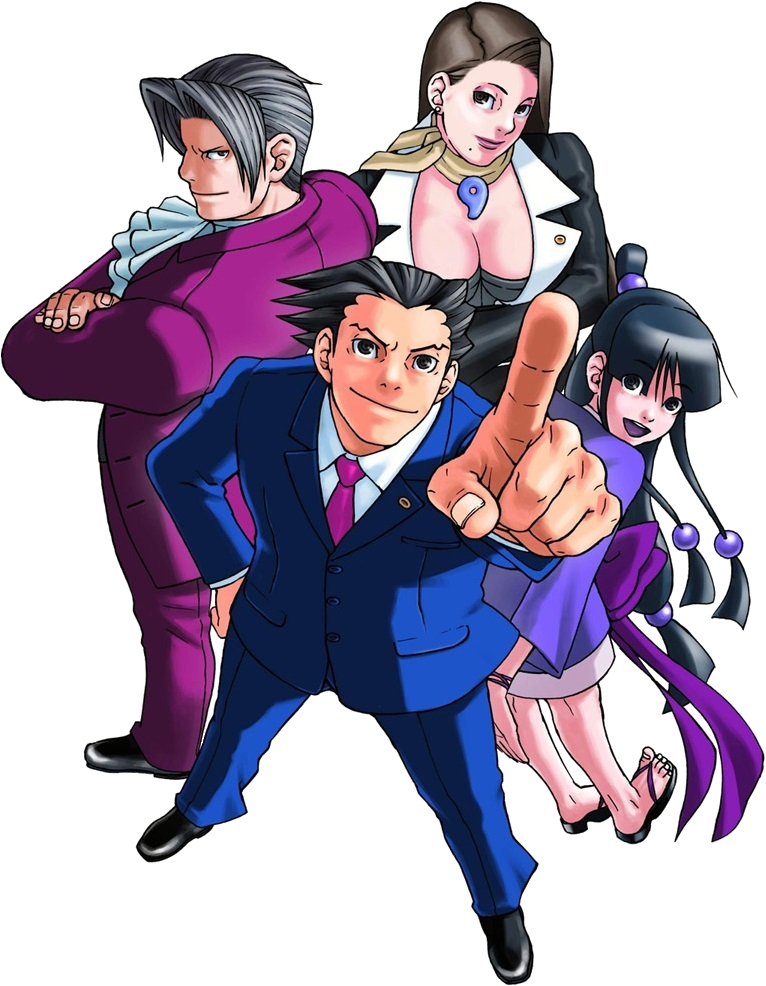 HQ Phoenix Wright: Ace Attorney Wallpapers | File 797.96Kb