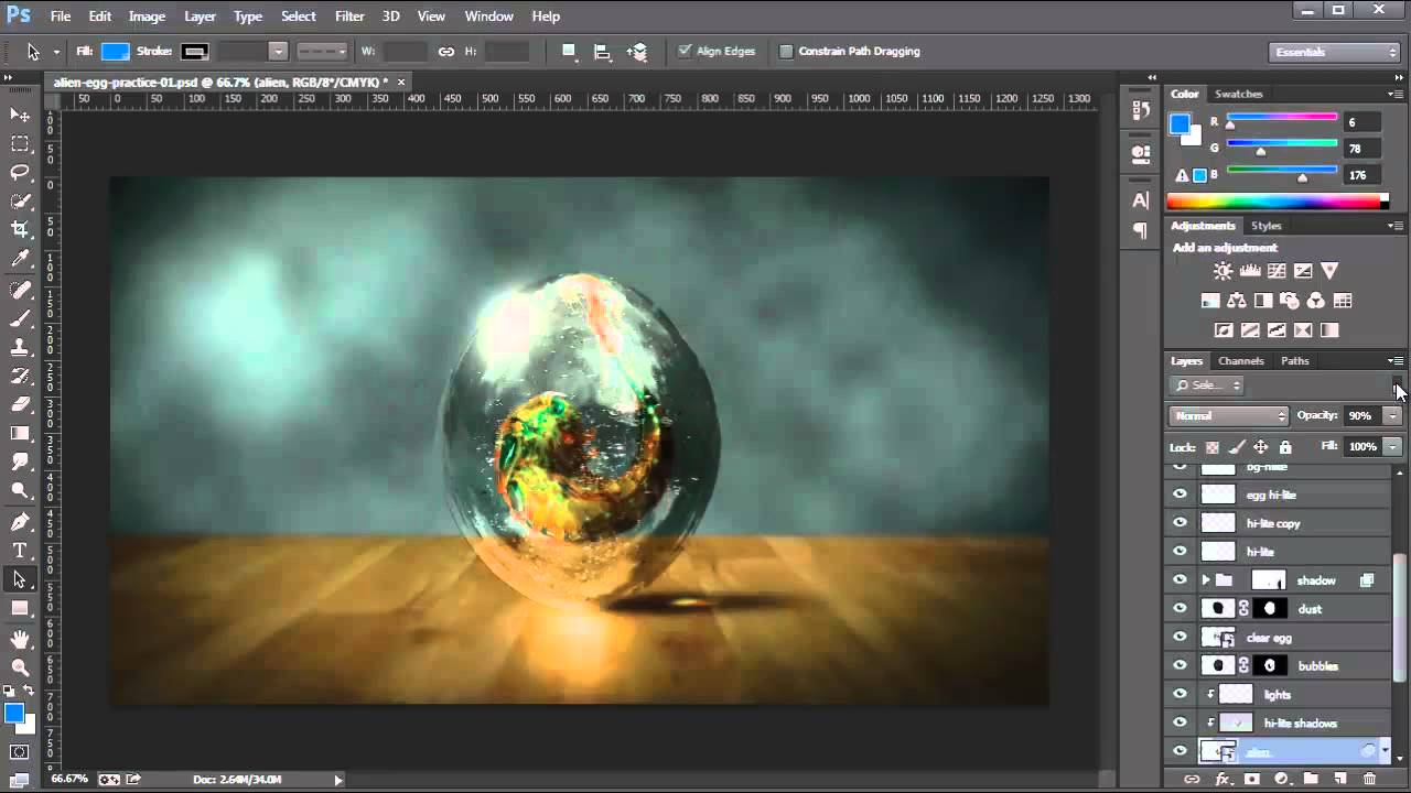Nice Images Collection: Photoshop Desktop Wallpapers