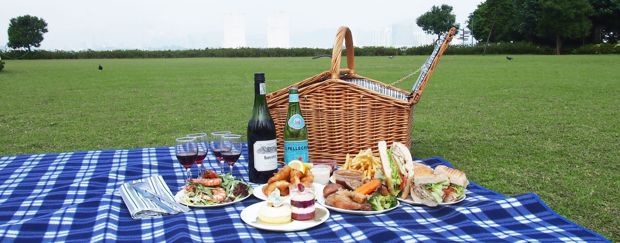 Nice wallpapers Picnic 2048x804px