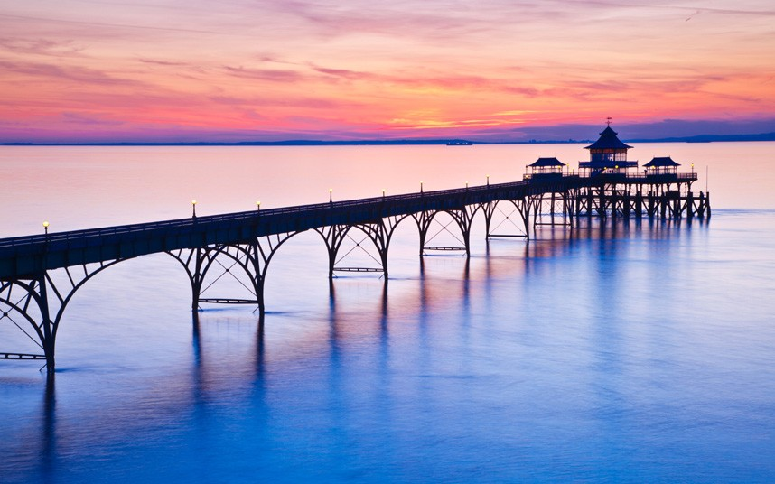 HD Quality Wallpaper | Collection: Artistic, 858x536 Pier