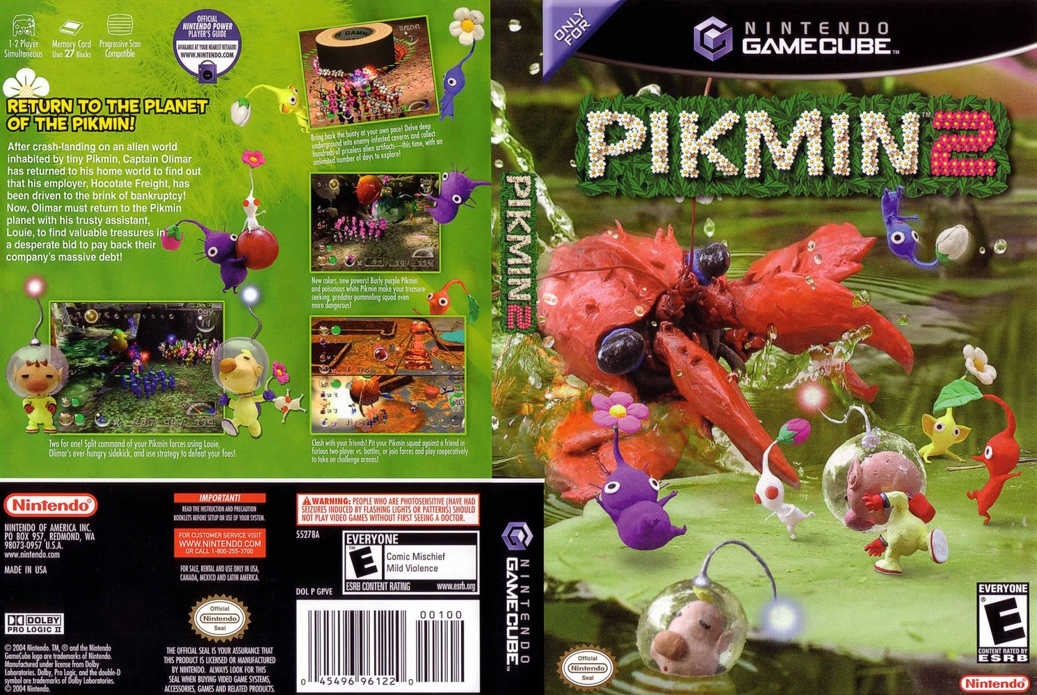 Pikmin 2 Pics, Video Game Collection