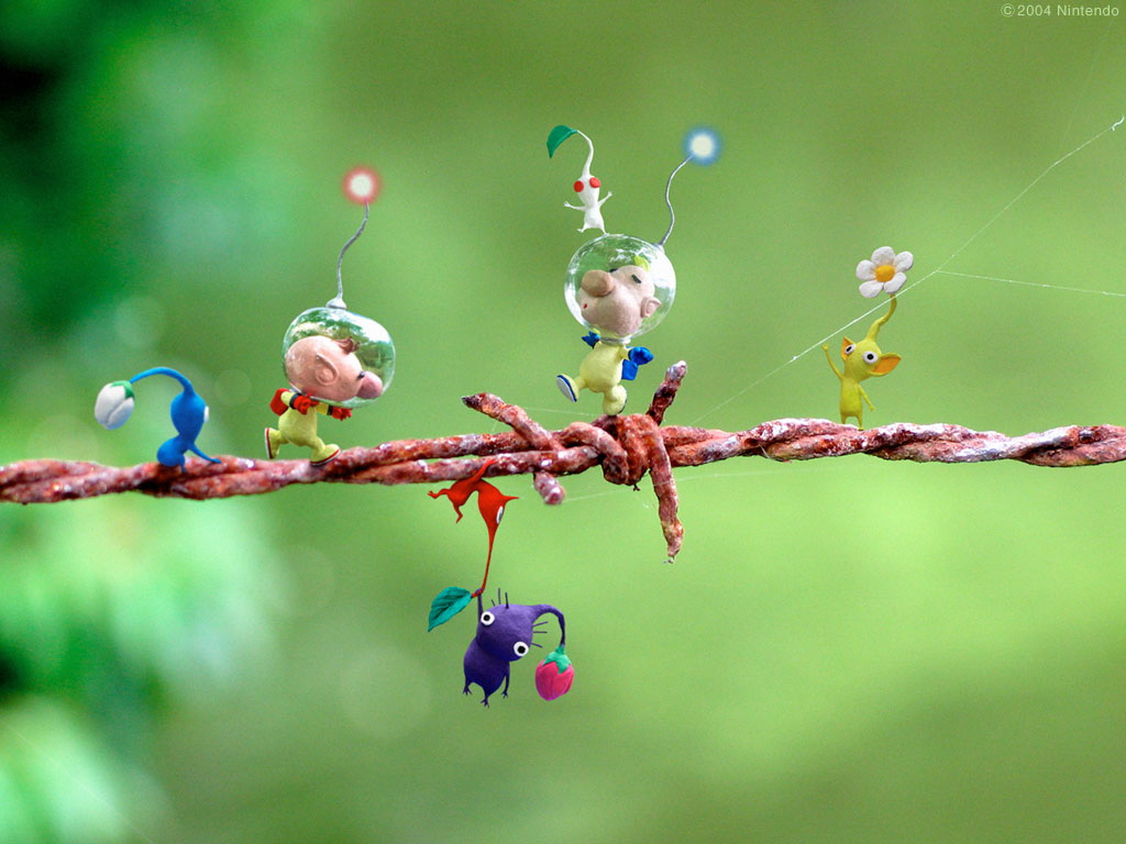 Nice Images Collection: Pikmin 2 Desktop Wallpapers