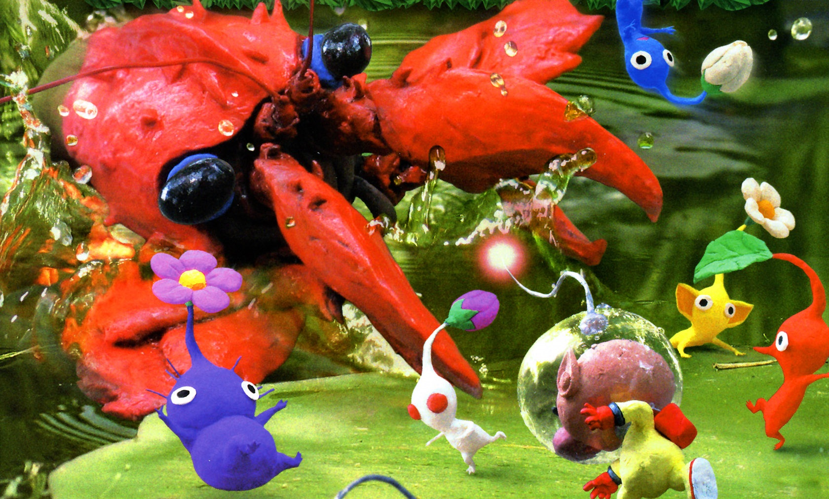 Pikmin 2 Backgrounds, Compatible - PC, Mobile, Gadgets| 1680x1011 px