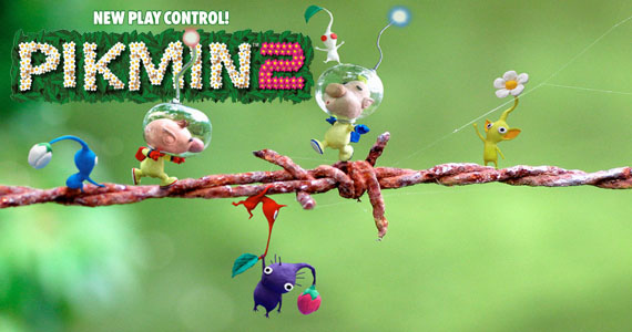 HD Quality Wallpaper | Collection: Video Game, 570x300 Pikmin 2