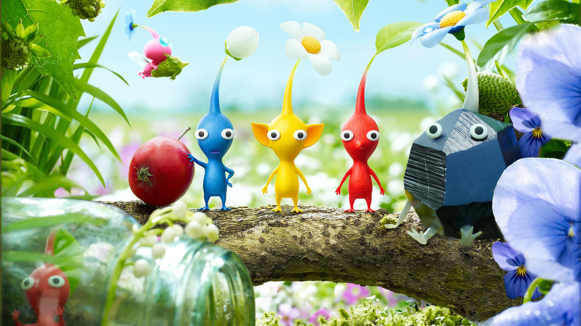 Pikmin 3 Backgrounds on Wallpapers Vista