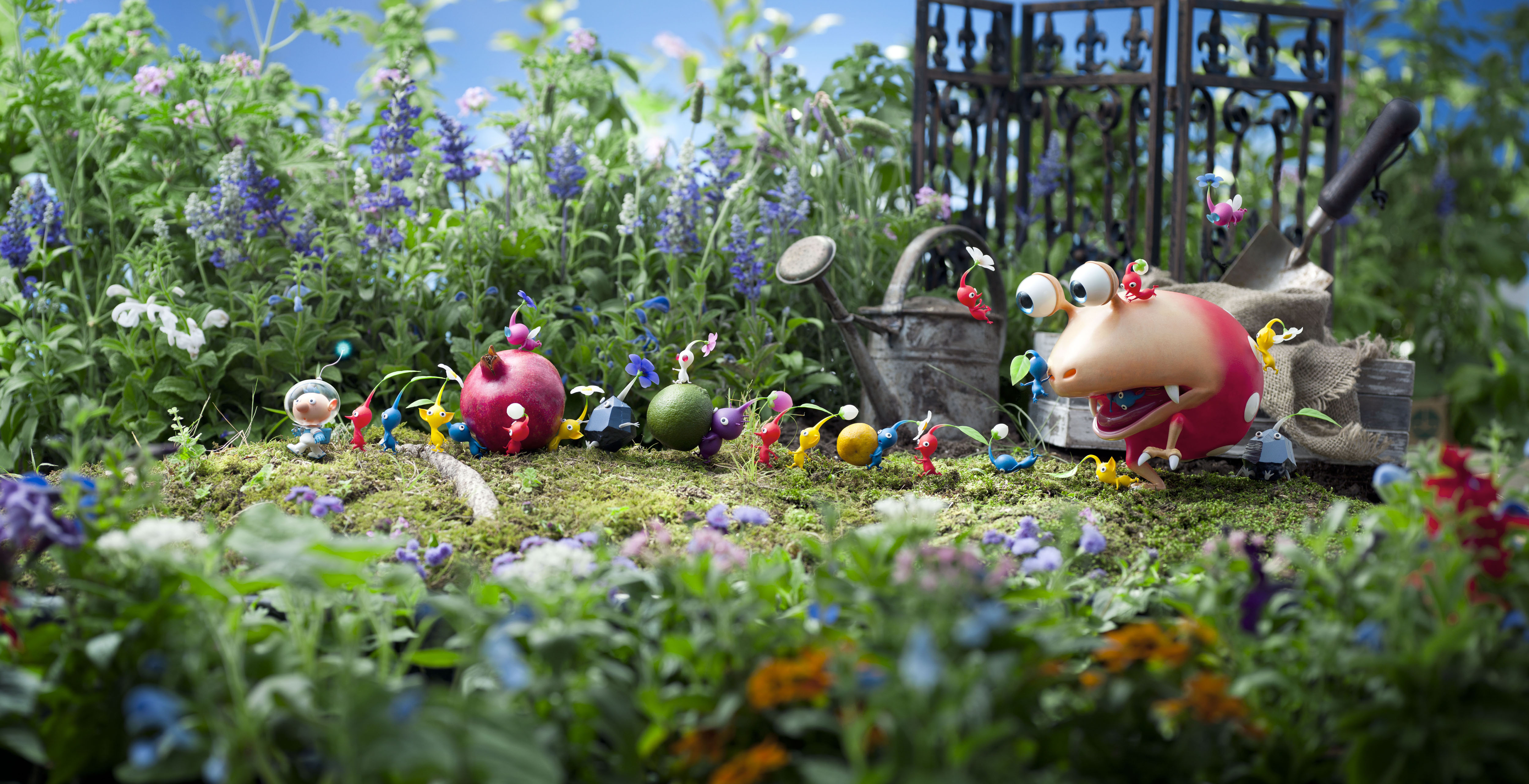 HD Quality Wallpaper | Collection: Video Game, 5000x2564 Pikmin 3