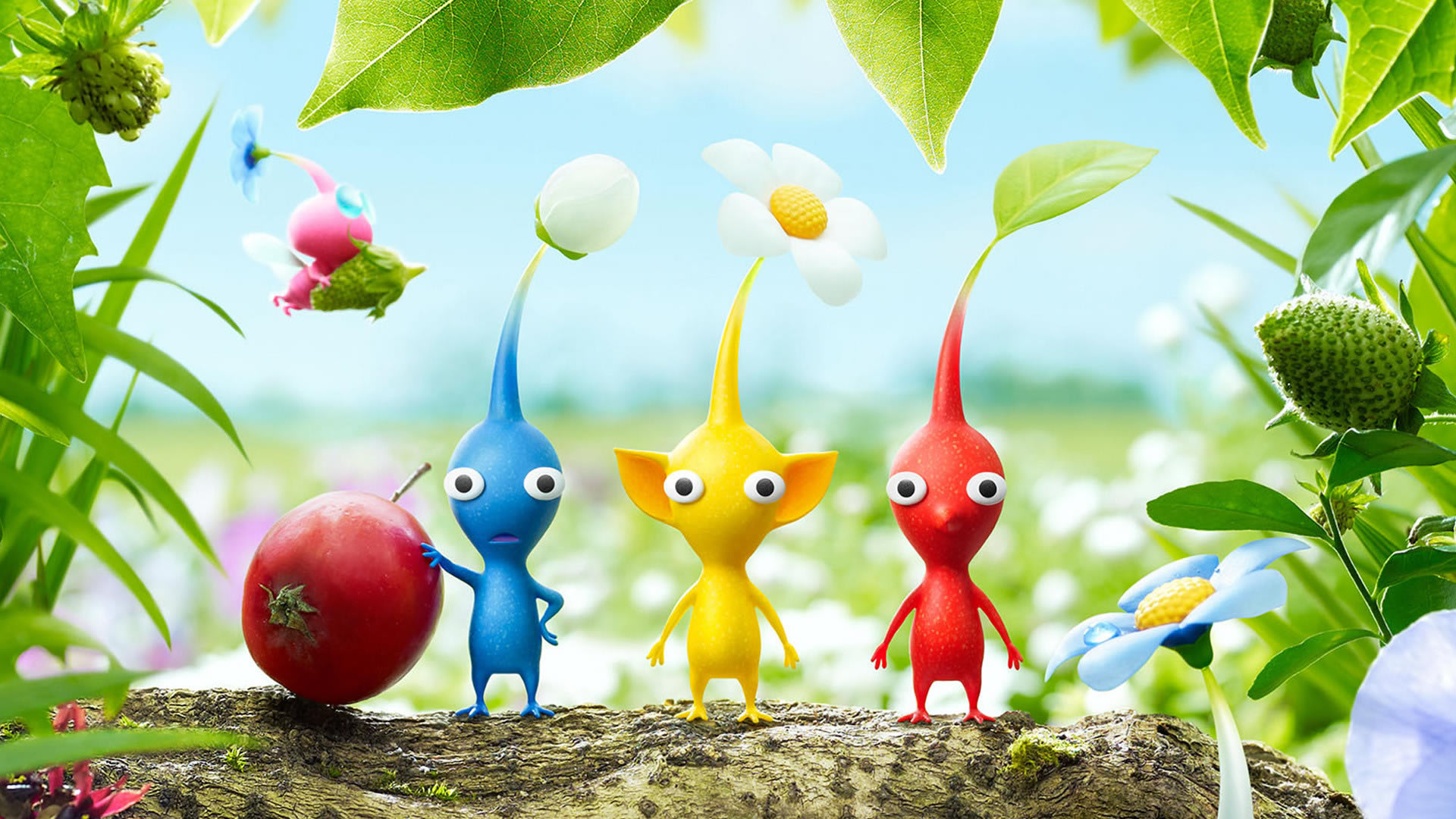 HD Quality Wallpaper | Collection: Video Game, 1920x1080 Pikmin 3