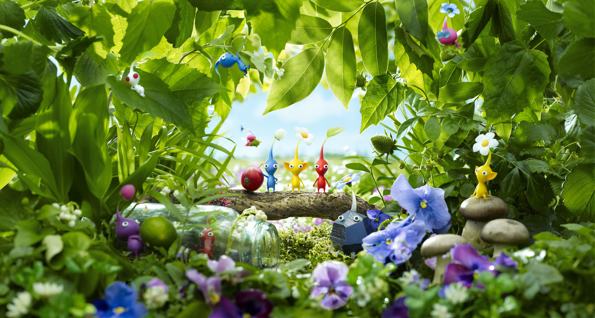 HD Quality Wallpaper | Collection: Video Game, 1920x1028 Pikmin 3