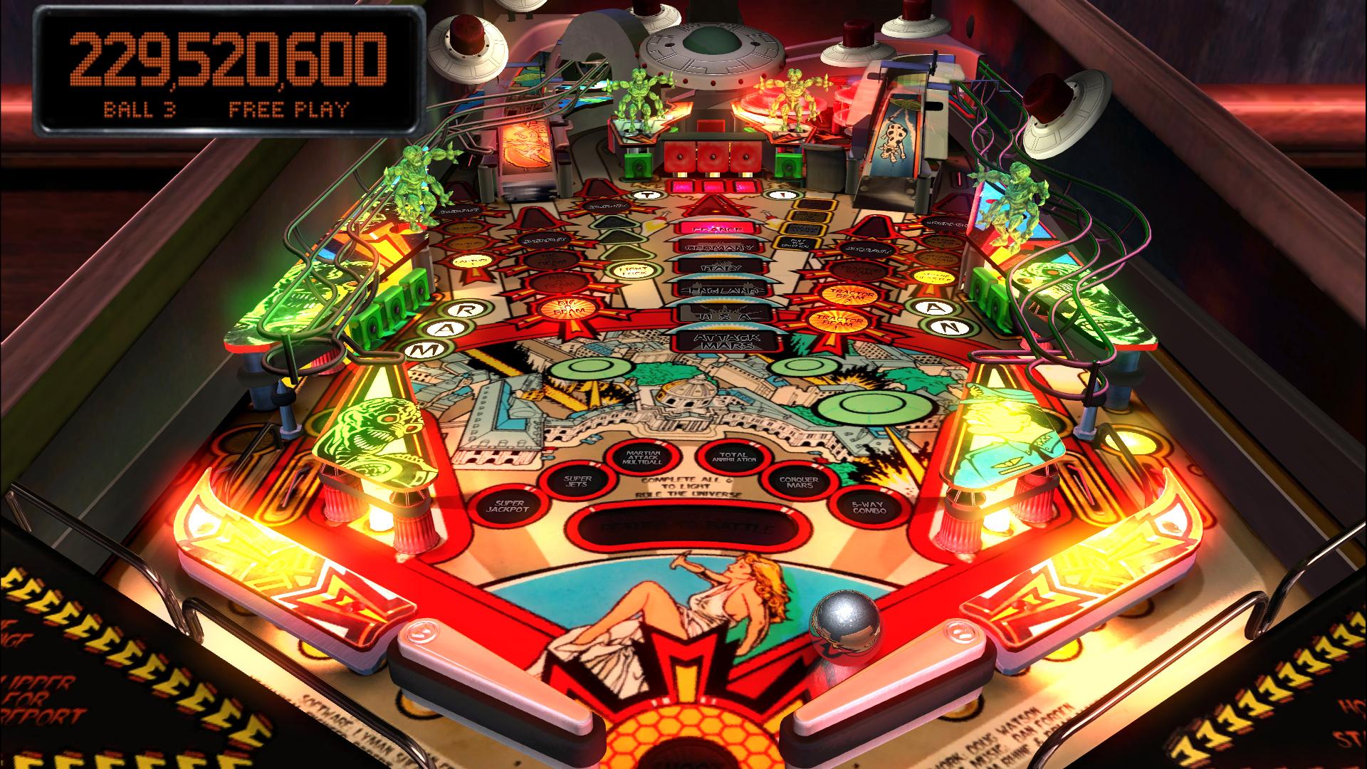 Pinball Pics, Game Collection