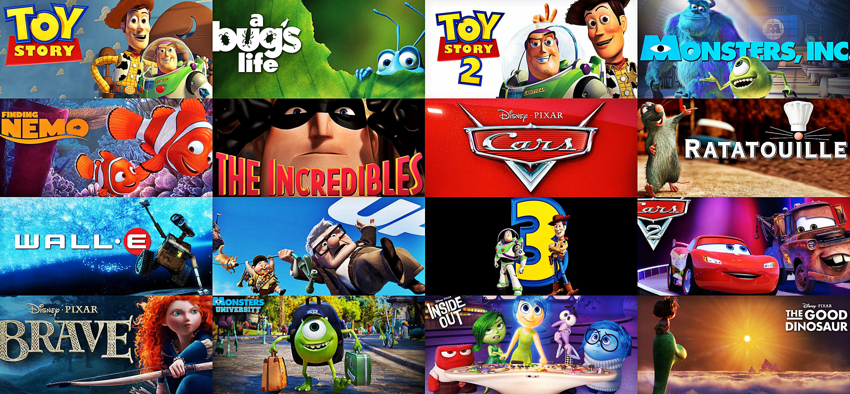 Images of Pixar | 3400x1577