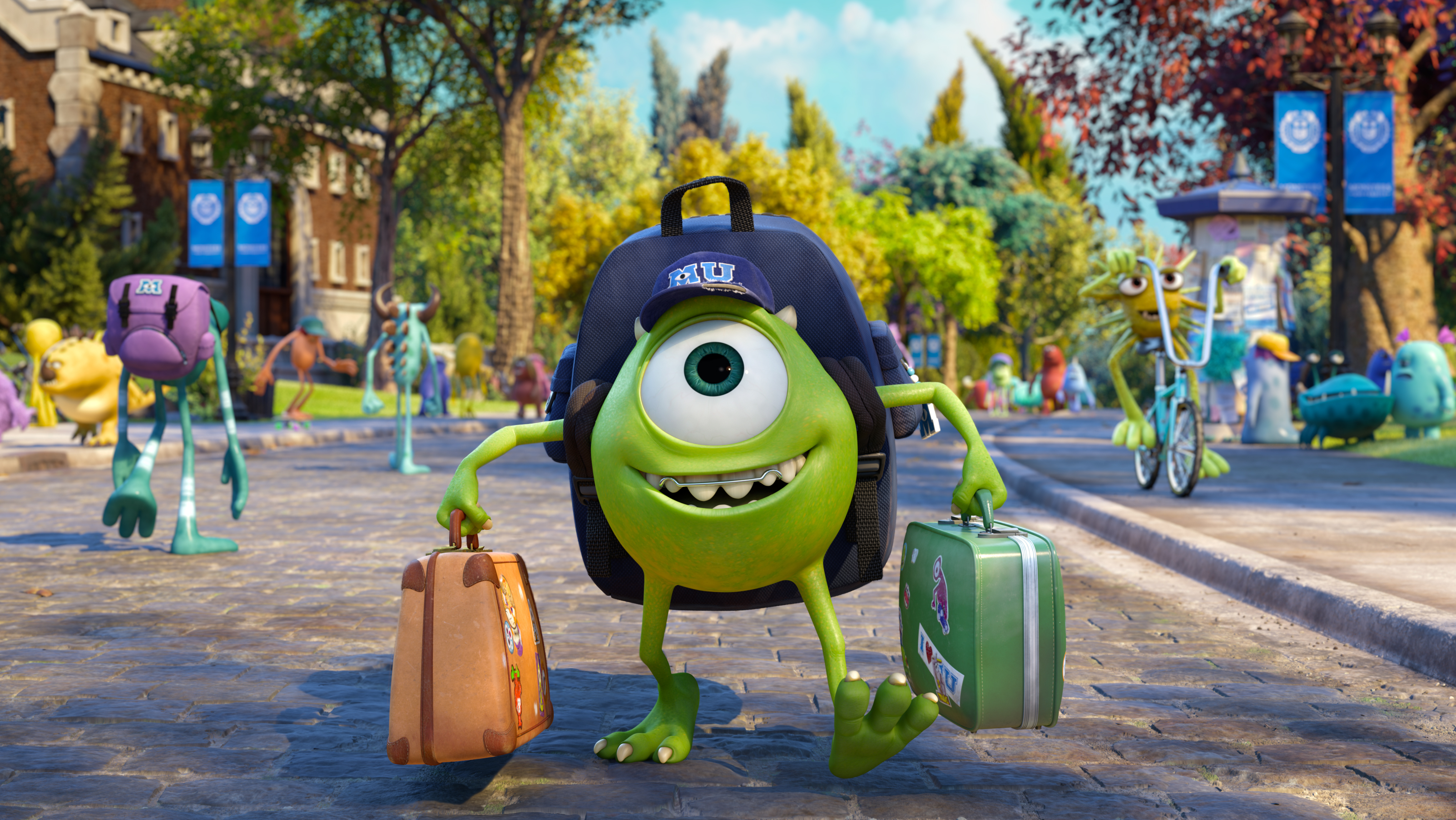 Pixar Backgrounds, Compatible - PC, Mobile, Gadgets| 4074x2294 px