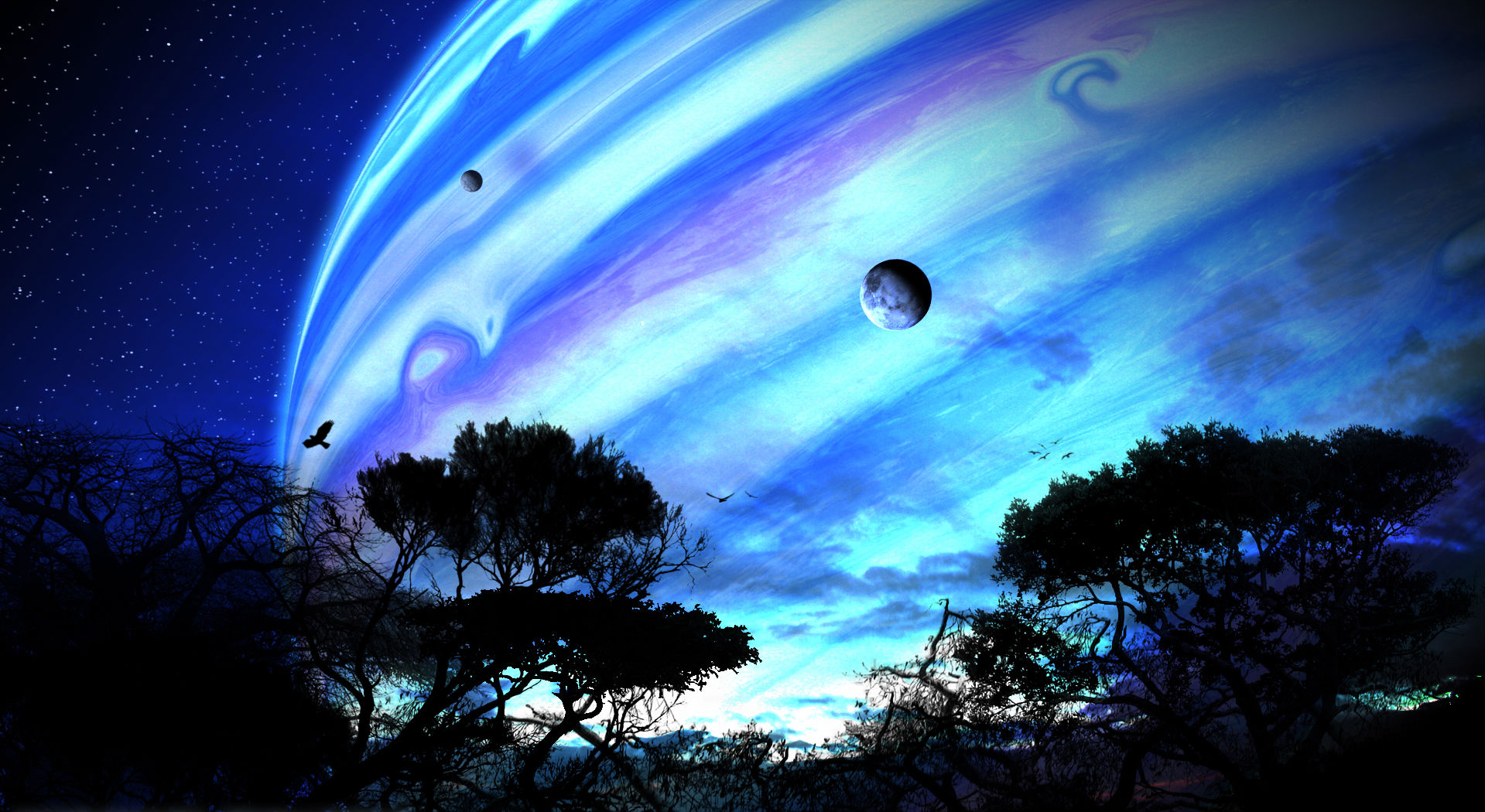 Planet Rise High Quality Background on Wallpapers Vista