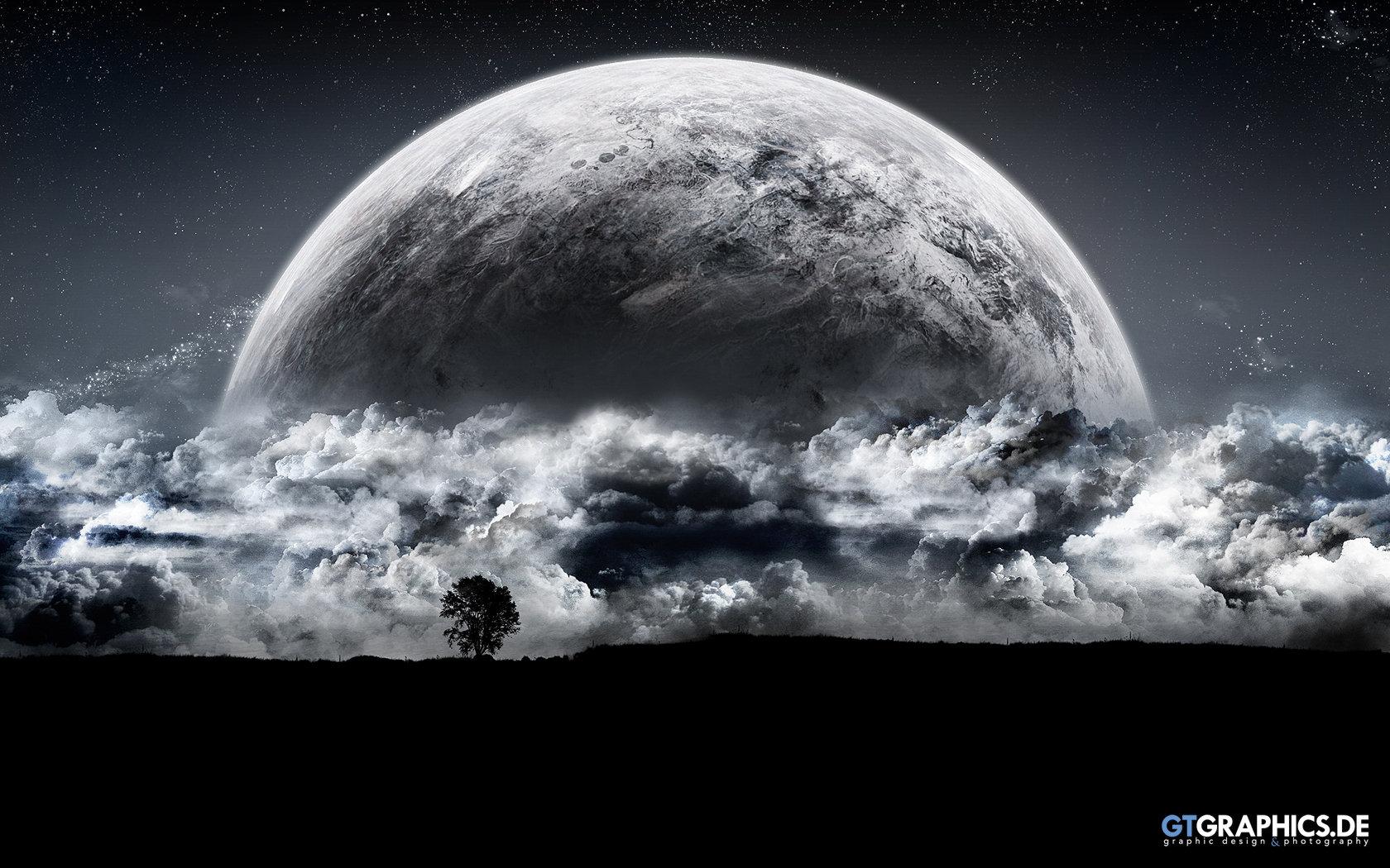 Planet Rise Backgrounds, Compatible - PC, Mobile, Gadgets| 1680x1050 px