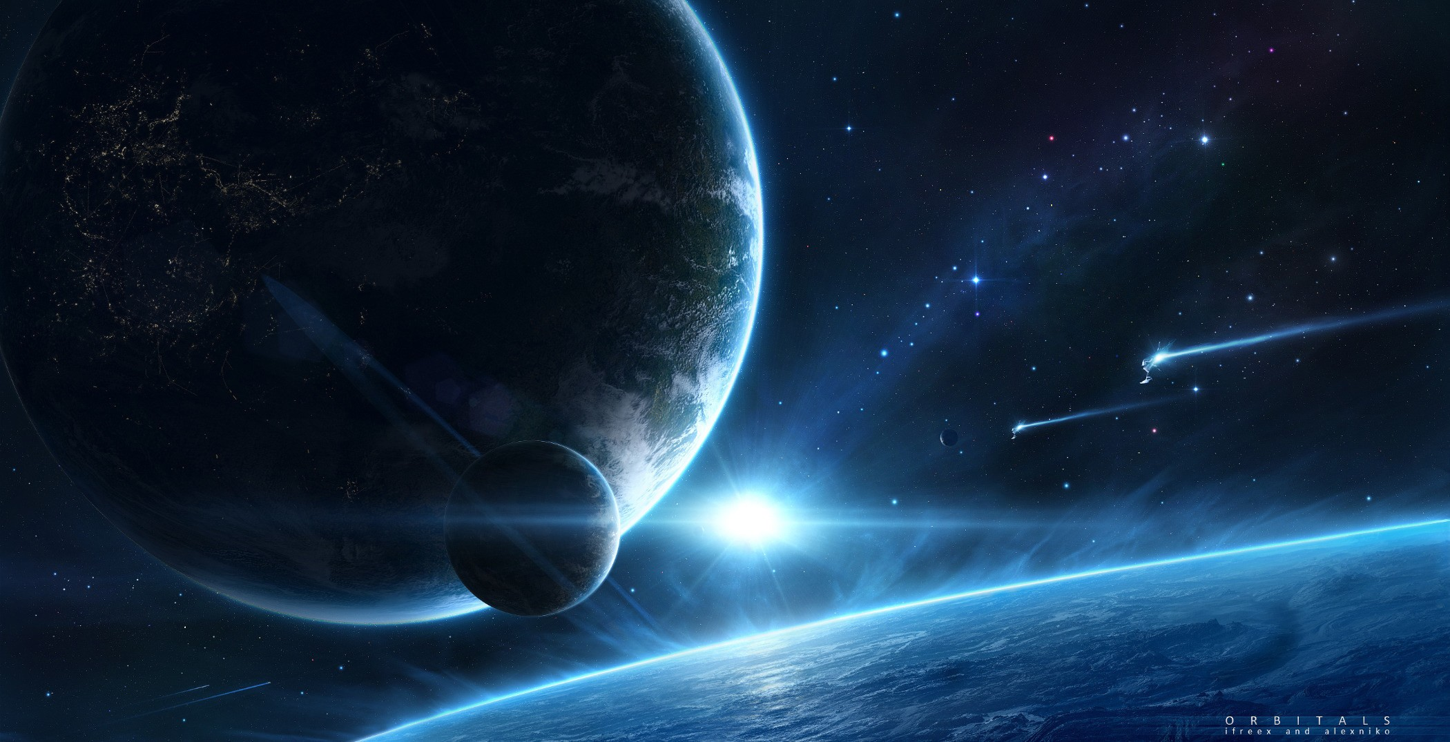Amazing Planetscape Pictures & Backgrounds
