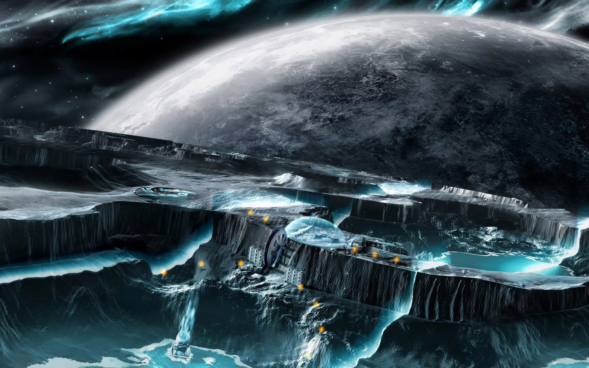 Nice Images Collection: Planetscape Desktop Wallpapers