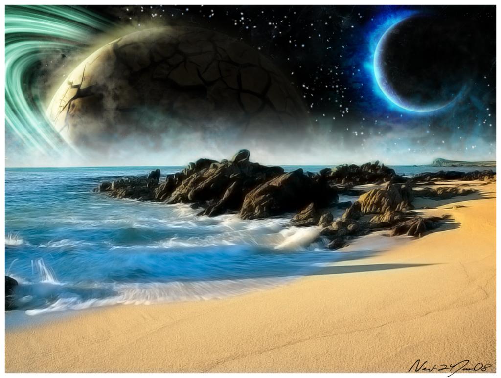 High Resolution Wallpaper | Planetscape 1024x773 px