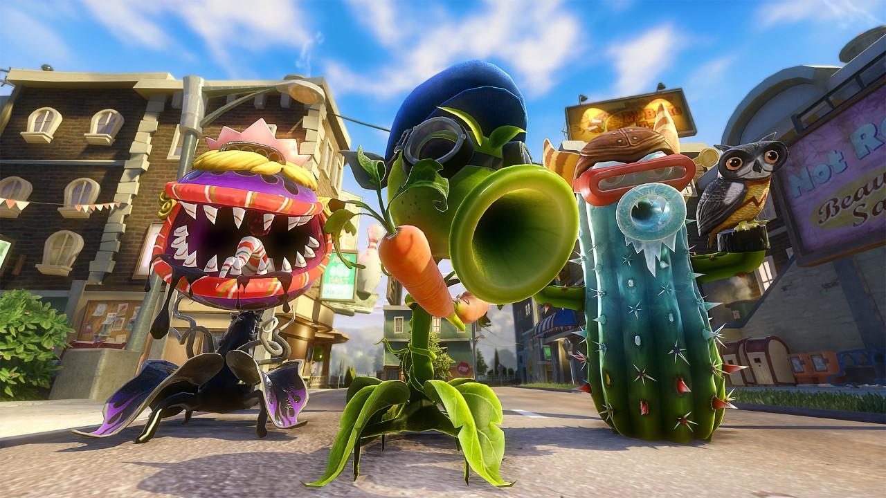 Plants Vs Zombies Garden Warfare Wallpapers Video Game Hq