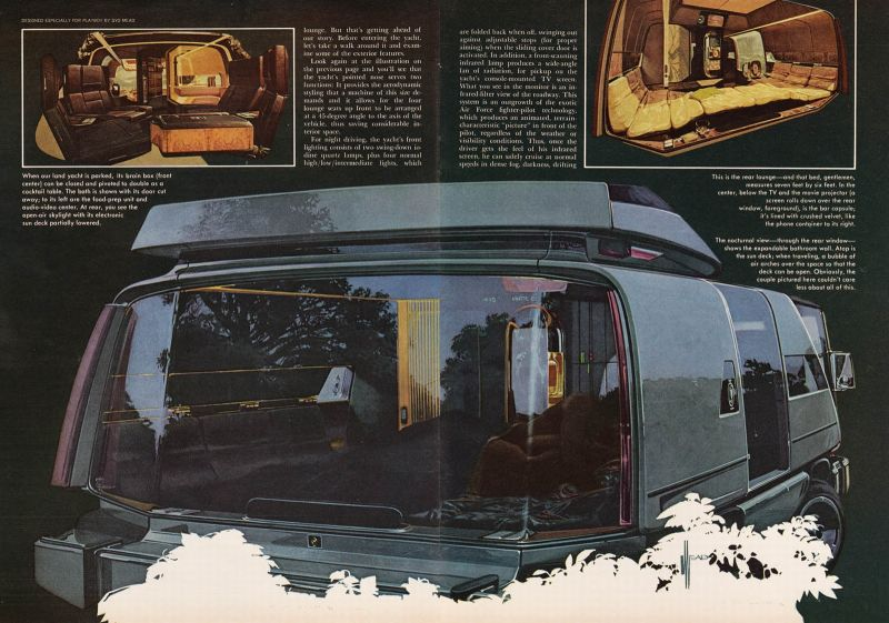 Playboy Land Yacht Pics, Sci Fi Collection
