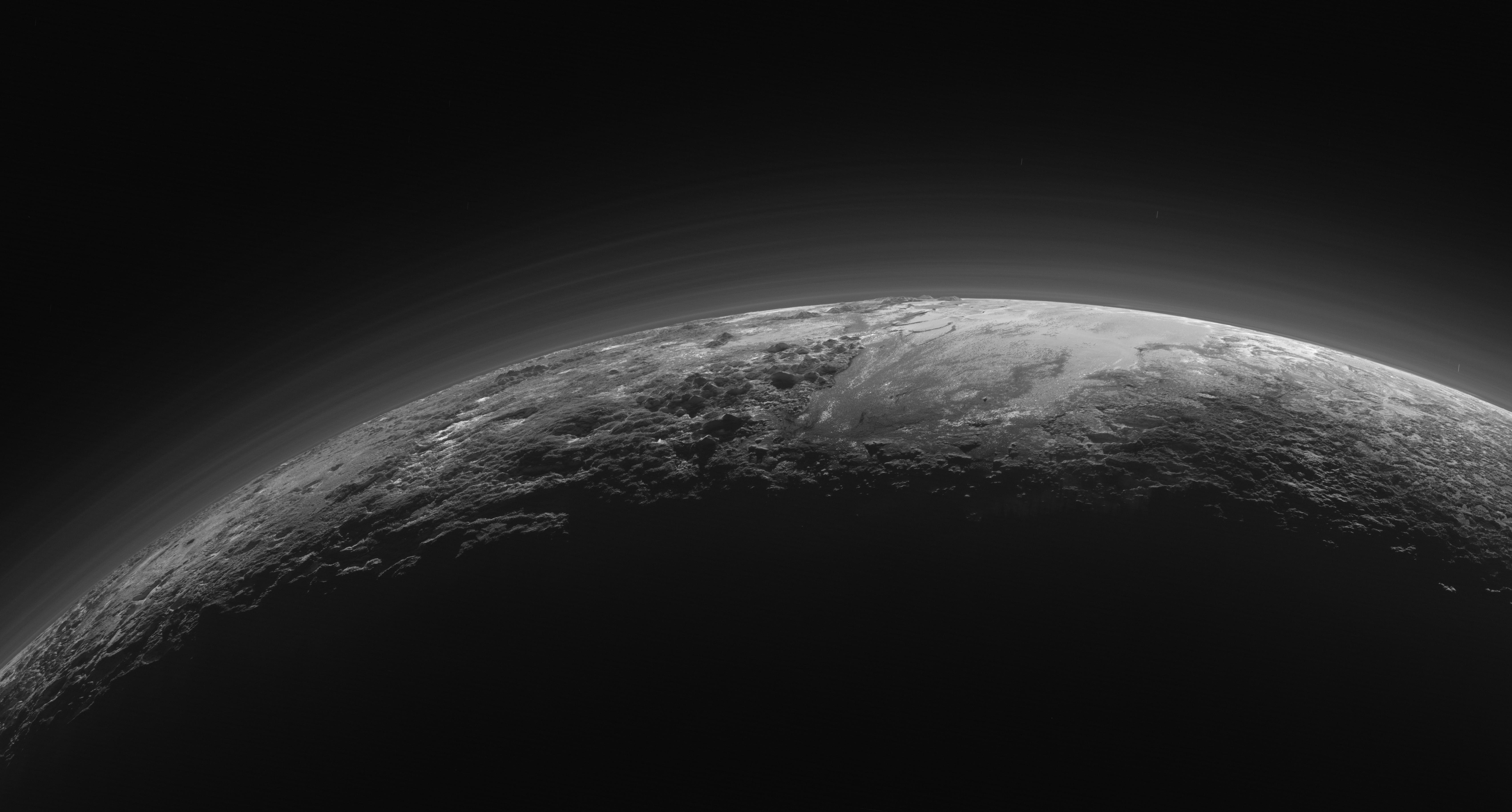 High Resolution Wallpaper | Pluto 6797x3652 px