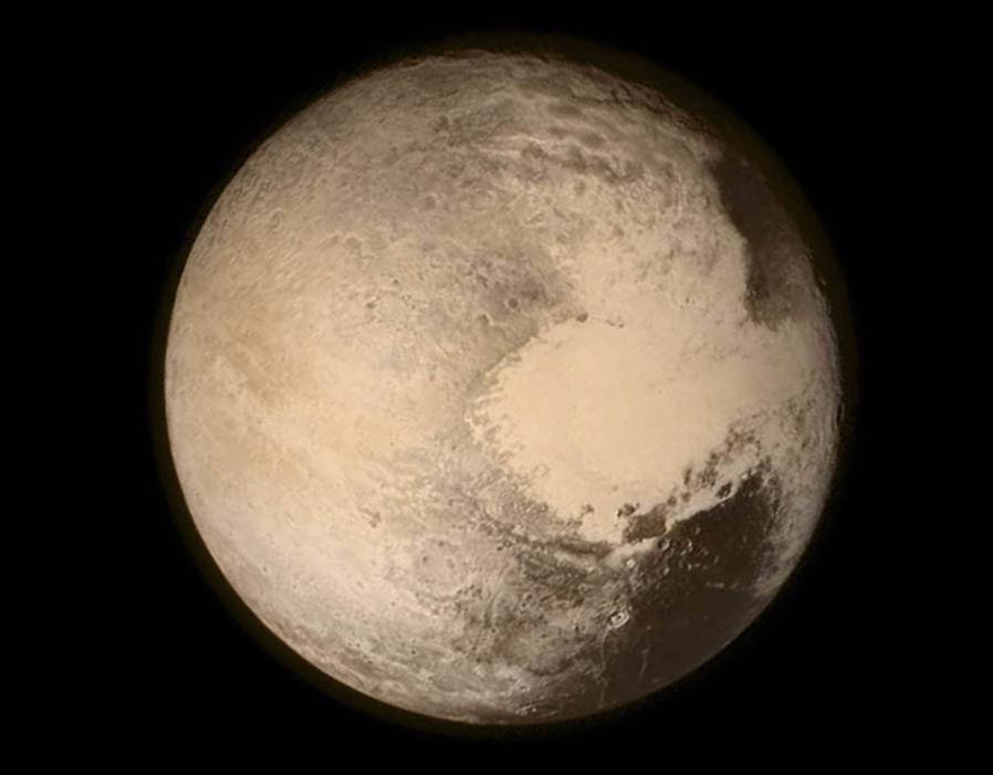 Pluto Backgrounds, Compatible - PC, Mobile, Gadgets| 898x701 px