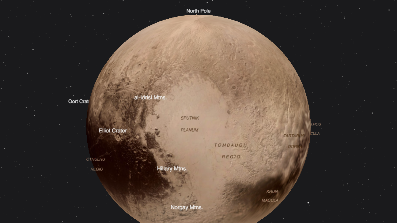 High Resolution Wallpaper | Pluto 1296x729 px