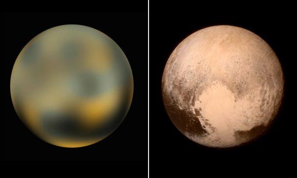 Pluto Backgrounds, Compatible - PC, Mobile, Gadgets| 580x348 px
