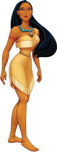 Pocahontas Pics, Cartoon Collection