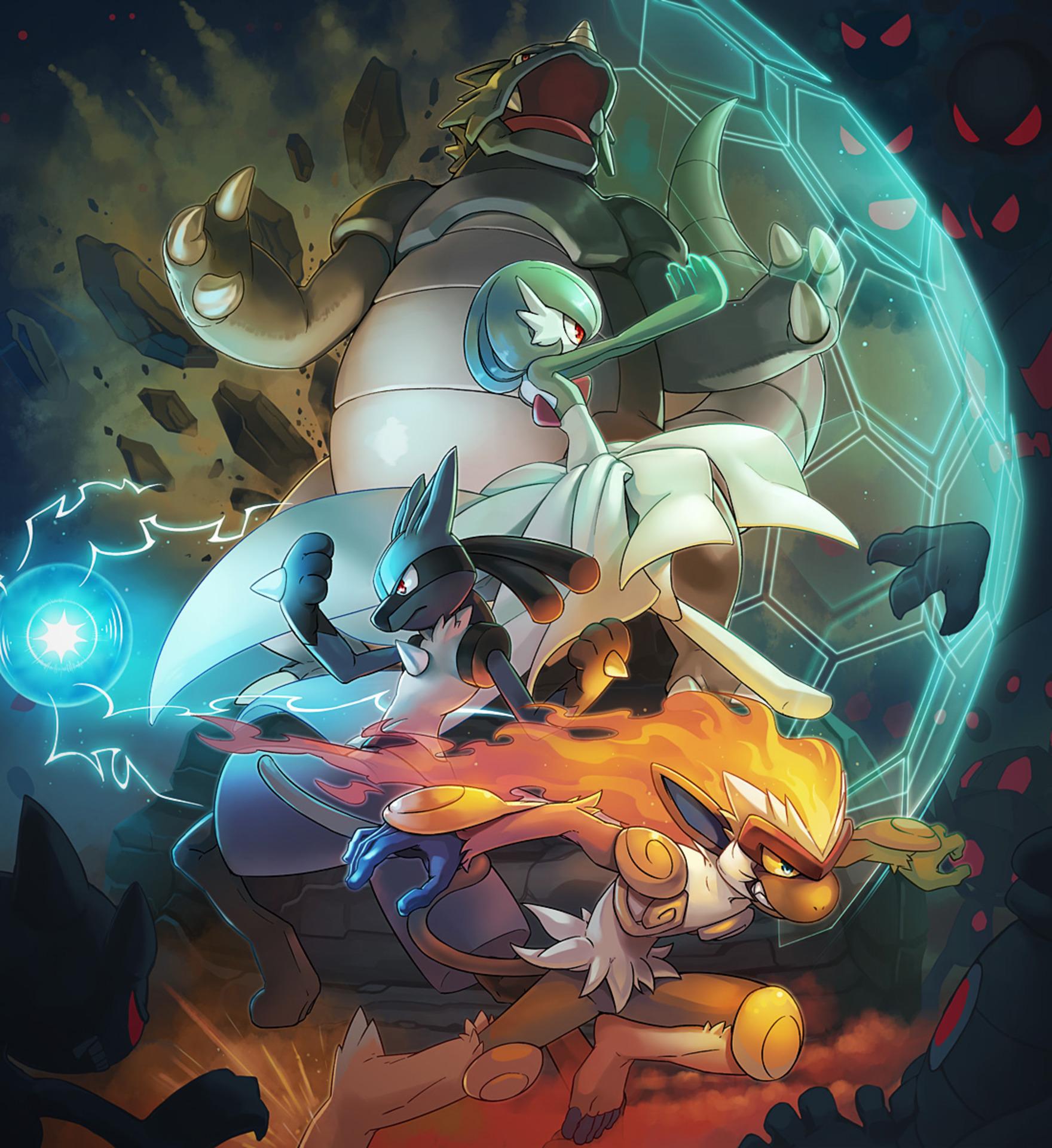 Nice wallpapers Pokemon Avengers 1760x1920px