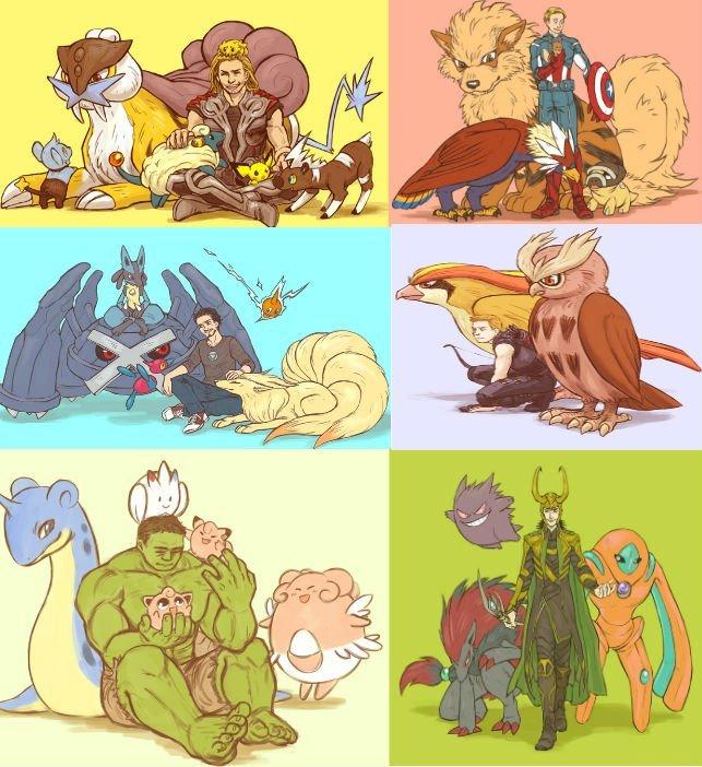 Pokemon Avengers Backgrounds on Wallpapers Vista