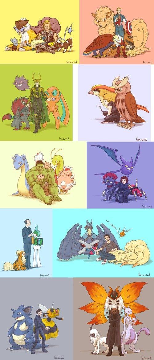 500x1168 > Pokemon Avengers Wallpapers