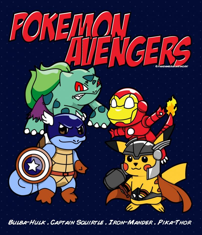 Nice wallpapers Pokemon Avengers 800x928px