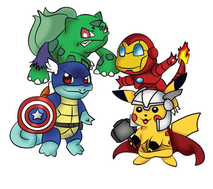 Pokemon Avengers High Quality Background on Wallpapers Vista