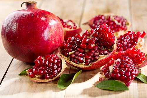 Pomegranate Pics, Food Collection