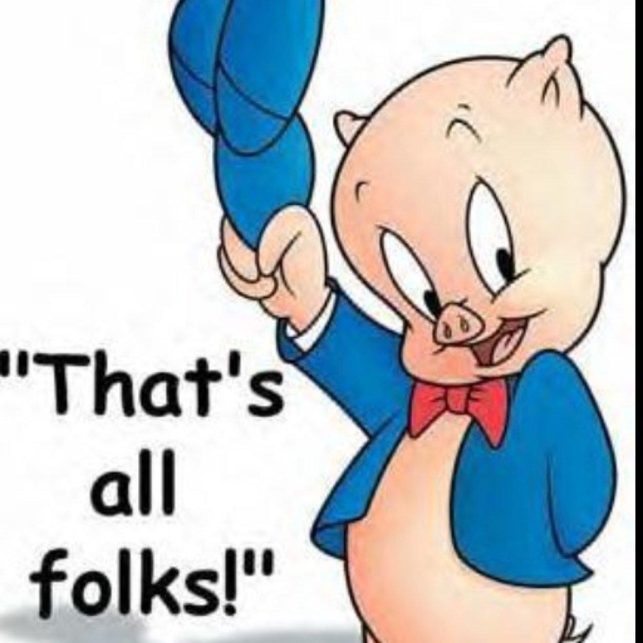 Nice Images Collection: Porky Pig Desktop Wallpapers
