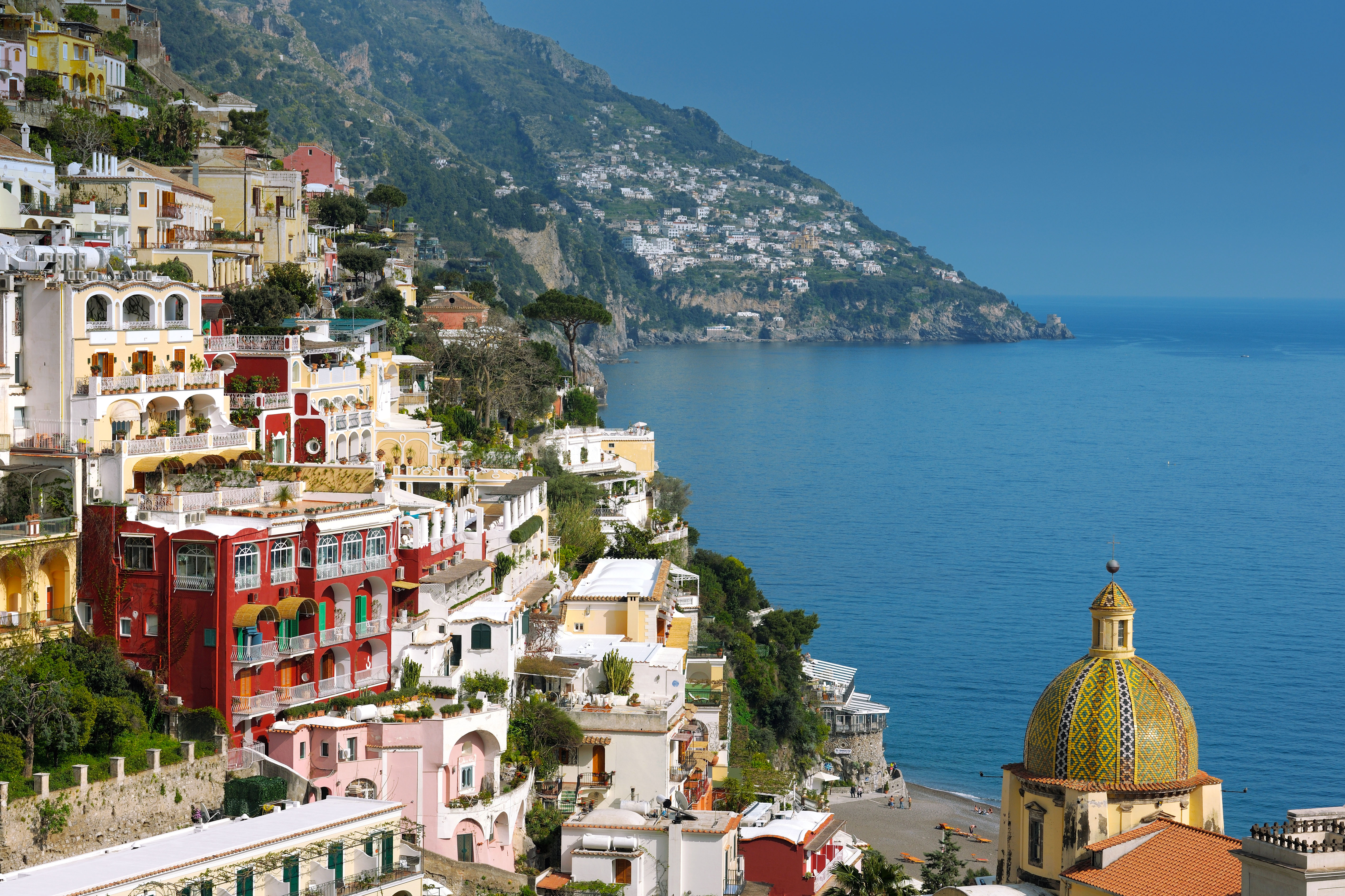 Positano Wallpapers Man Made Hq Positano Pictures 4k