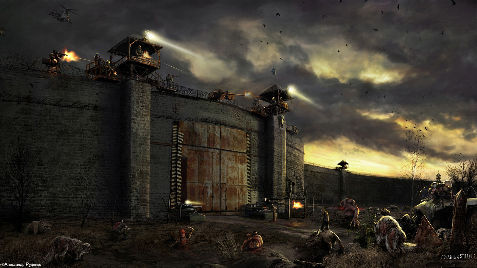 Nice Images Collection: Post Apocalyptic Desktop Wallpapers