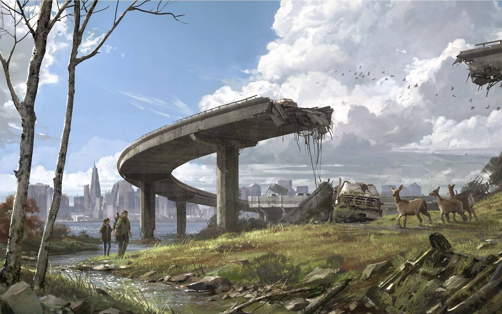HD Quality Wallpaper | Collection: Sci Fi, 1920x1200 Post Apocalyptic