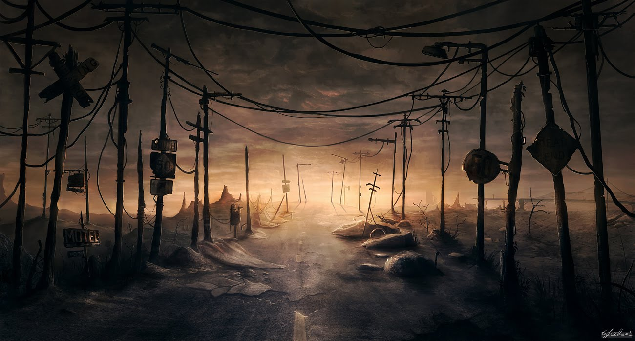 High Resolution Wallpaper | Post Apocalyptic 1300x698 px