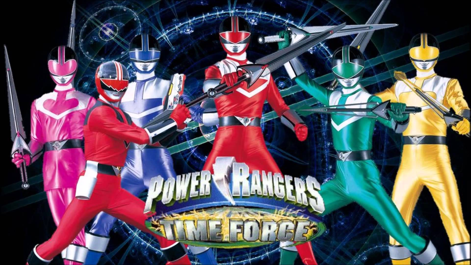 Power Rangers Time Force Wallpapers Video Game Hq Power Rangers