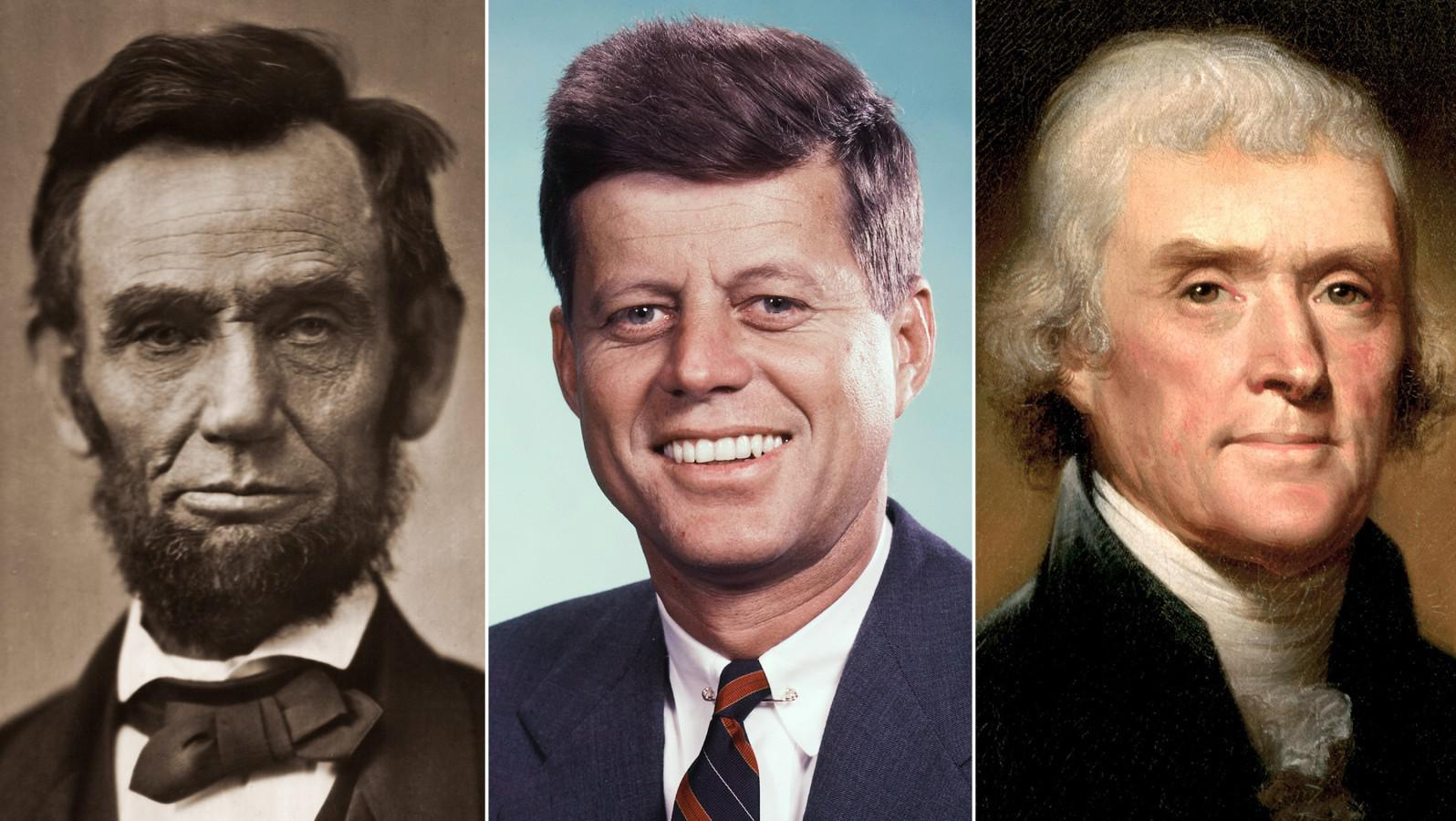 HD Quality Wallpaper | Collection: Artistic, 1596x900 Presidents