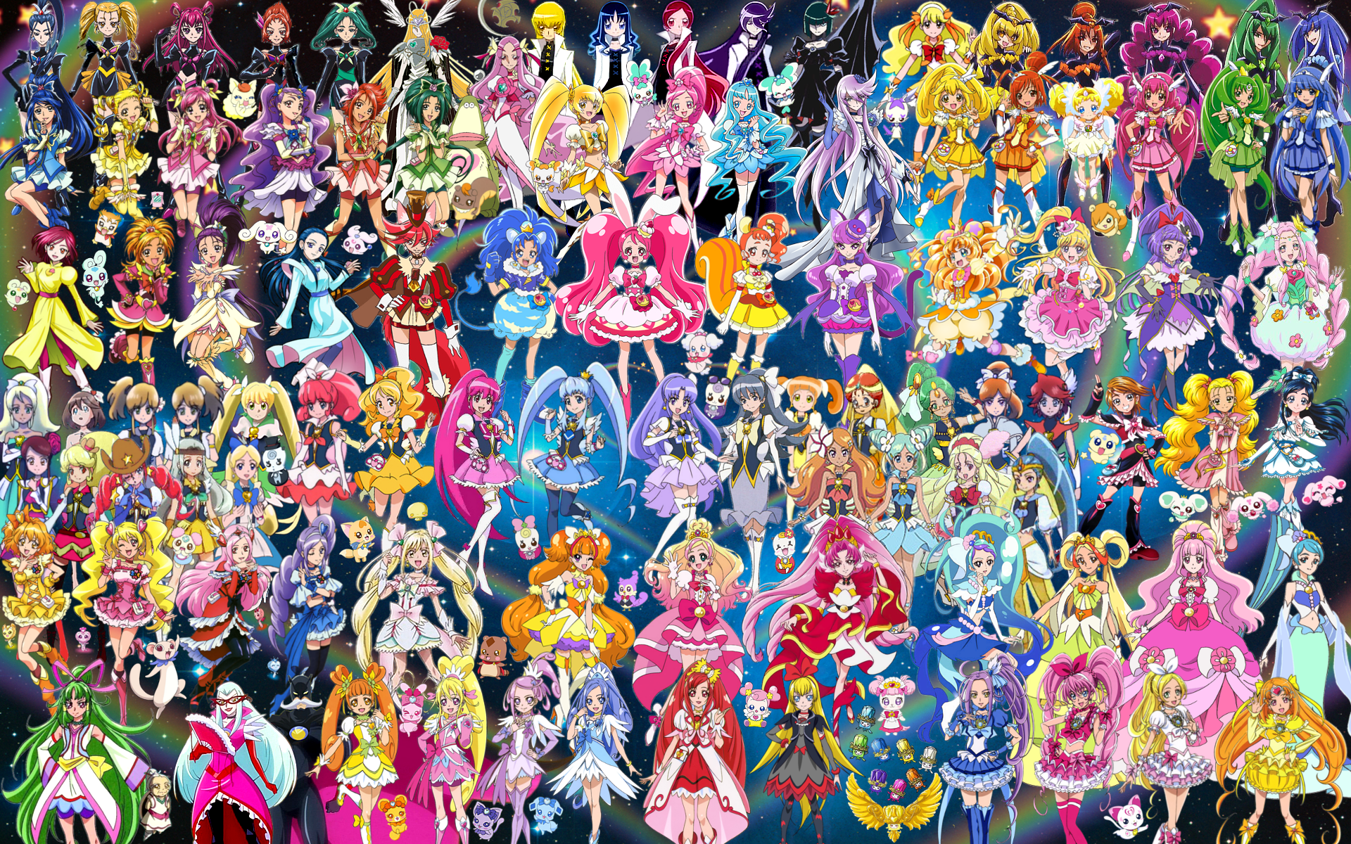 Nice Images Collection: Pretty Cure! Desktop Wallpapers