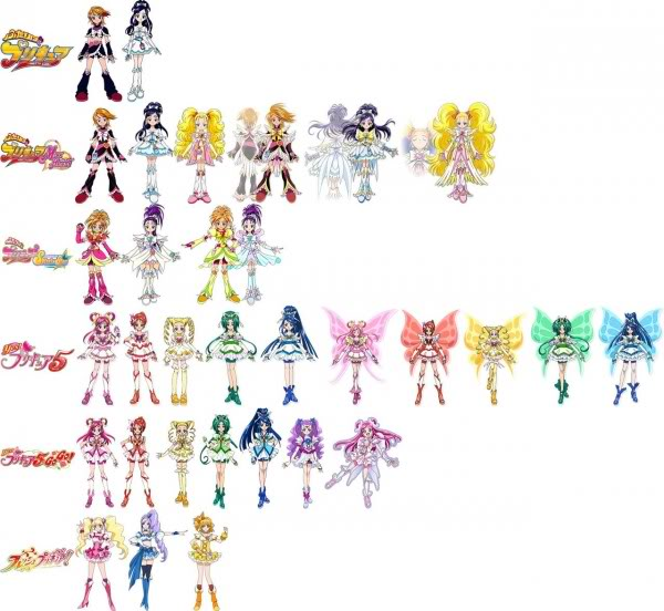 HD Quality Wallpaper | Collection: Anime, 600x552 Pretty Cure!