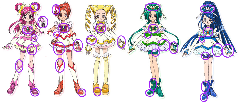 HQ Pretty Cure! Wallpapers | File 410.1Kb